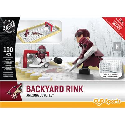 Arizona Coyotes (OYO Sports NHL Team Buildable Backyard Rink)