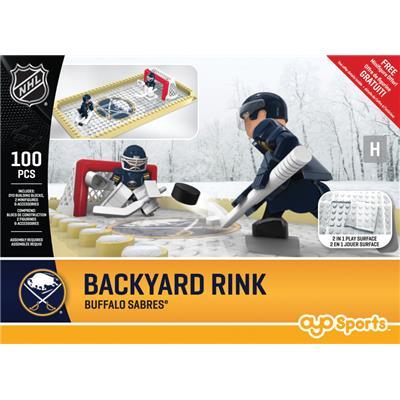 Buffalo Sabres (OYO Sports NHL Team Buildable Backyard Rink)