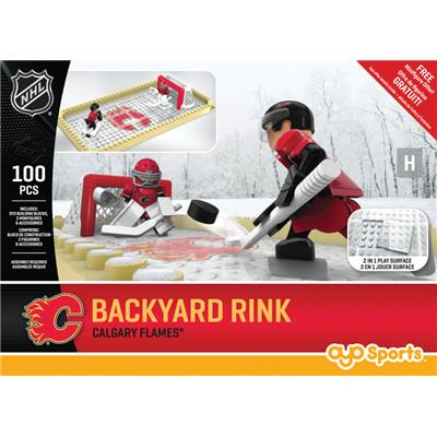 Calgary Flames (OYO Sports NHL Team Buildable Backyard Rink)