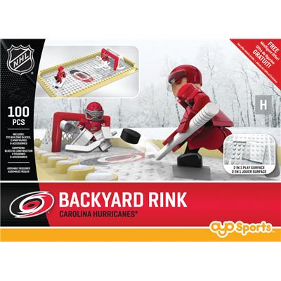 Carolina Hurricanes (OYO Sports NHL Team Buildable Backyard Rink)