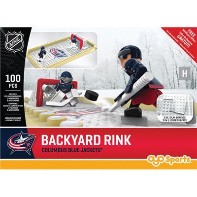 Columbus Blue Jackets (OYO Sports NHL Team Buildable Backyard Rink)