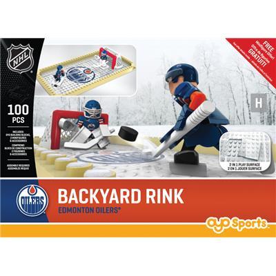 Edmonton Oilers (OYO Sports NHL Team Buildable Backyard Rink)