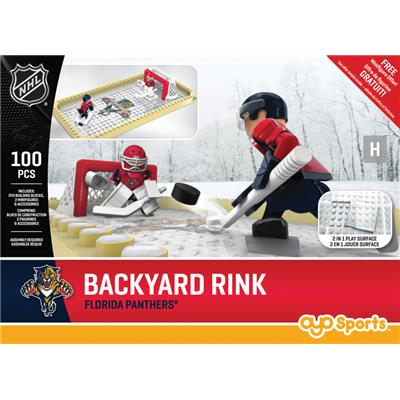 Florida Panthers (OYO Sports NHL Team Buildable Backyard Rink)