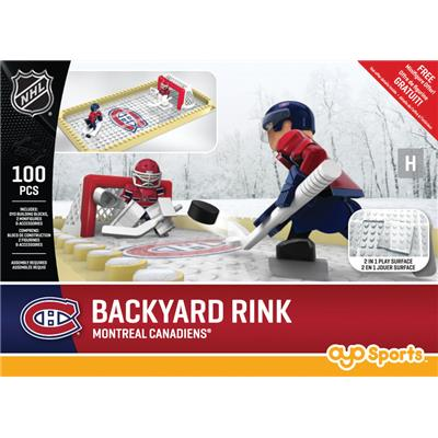 Montreal Canadiens (OYO Sports NHL Team Buildable Backyard Rink)