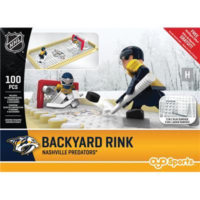 Nashville Predators (OYO Sports NHL Team Buildable Backyard Rink)