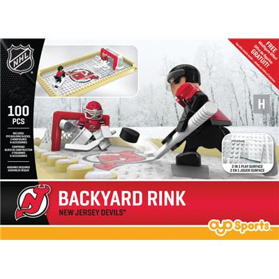 New Jersey Devils (OYO Sports NHL Team Buildable Backyard Rink)