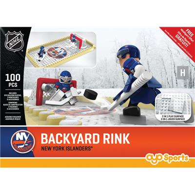 New York Islanders (OYO Sports NHL Team Buildable Backyard Rink)
