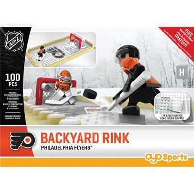 Philadelphia Flyers (OYO Sports NHL Team Buildable Backyard Rink)