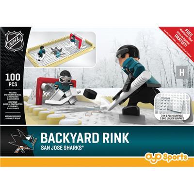 San Jose Sharks (OYO Sports NHL Team Buildable Backyard Rink)