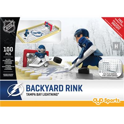 Tampa Bay Lightning (OYO Sports NHL Team Buildable Backyard Rink)
