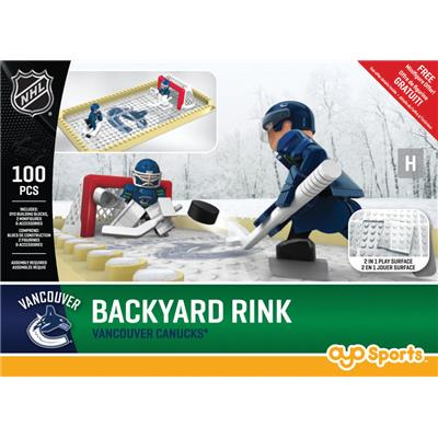 Vancouver Canucks (OYO Sports NHL Team Buildable Backyard Rink)