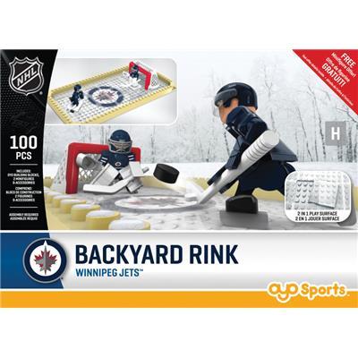 Winnipeg Jets (OYO Sports NHL Team Buildable Backyard Rink)