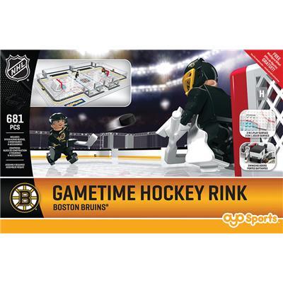 Boston Bruins (OYO Sports NHL Team Buildable Hockey Rink)