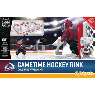 Colorado Avalanche (OYO Sports NHL Team Buildable Hockey Rink)