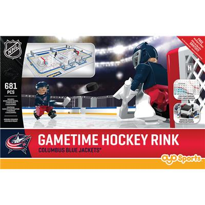 Columbus Blue Jackets (OYO Sports NHL Team Buildable Hockey Rink)