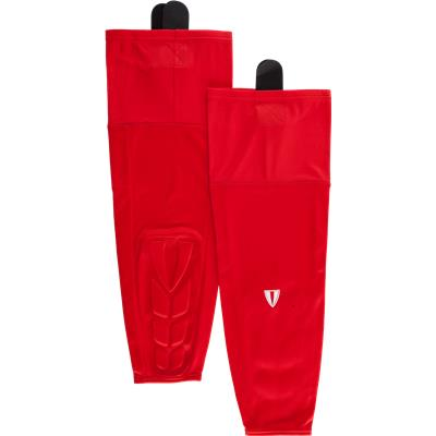 Red (Vital Nation KPS600 Protective Hockey Socks - Senior)