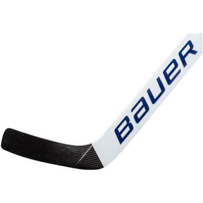 White/Royal Blue (Bauer Reactor 9000 Foam Core Goalie Stick - Senior)
