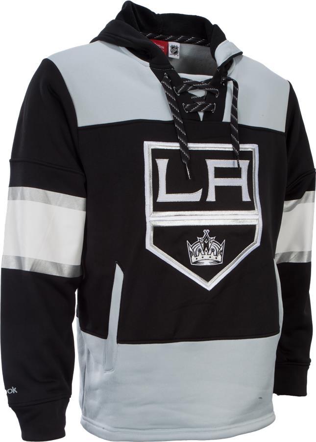 reebok los angeles kings faceoff jersey hoodie nhl sweatshirt 625f7e761