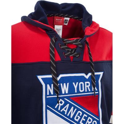 Collar View (Reebok FaceOff NHL Team Jersey Hoody)