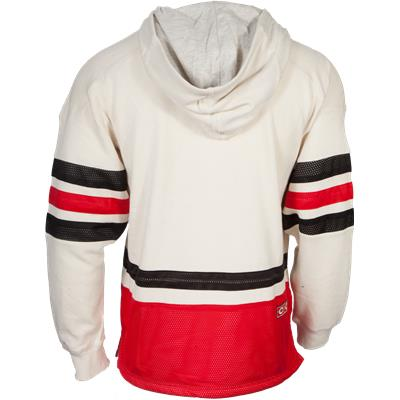 Back View (Reebok Chicago Blackhawks Pullover Hoody)