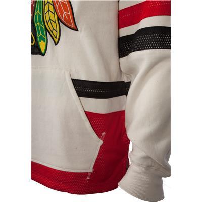 Pocket View (Reebok Chicago Blackhawks Pullover Hoody)