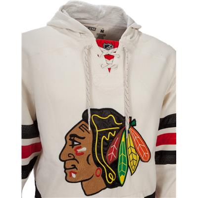 Chest View (Reebok Chicago Blackhawks Pullover Hoody)