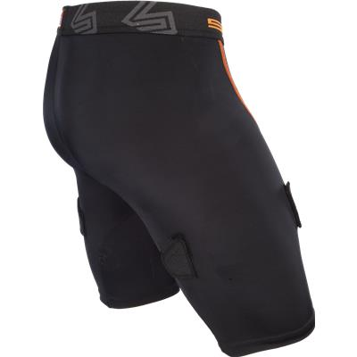 Side View (Shock Doctor Core Compression Hockey Shorts w/ Bio-Flex Cup)