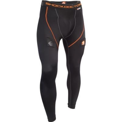 Black (Shock Doctor Core Hockey Pants w/ Ultra Carbon Flex Cup)