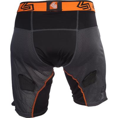 Back View (Shock Doctor Ultra Hybrid Hockey Shorts w/ Ultra Carbon Flex Cup)