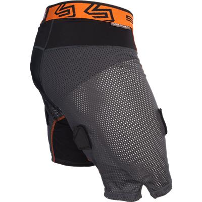 Side View (Shock Doctor Ultra Hybrid Hockey Shorts w/ Ultra Carbon Flex Cup)
