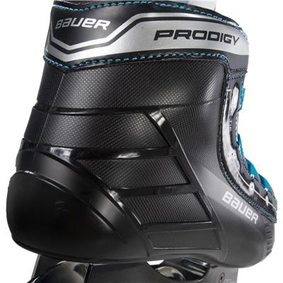 Back View (Bauer Prodigy Inline Skates)