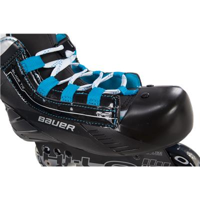 Front View (Bauer Prodigy Inline Skates)