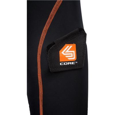 Sock Attachment (Shock Doctor Female Core Compression Hockey Jock w/ Pelvic Protector)