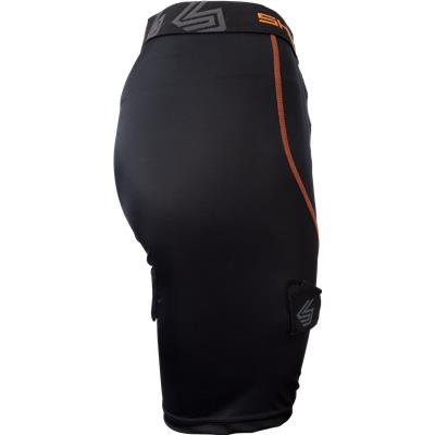 Side View (Shock Doctor Female Core Compression Hockey Jock w/ Pelvic Protector)