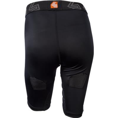 Back View (Shock Doctor Female Core Compression Hockey Jock w/ Pelvic Protector)