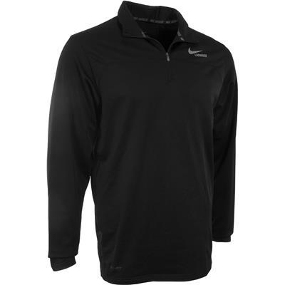 Black/Cool Grey (Nike Lightweight Dri-Fit Quarter-Zip Pullover)