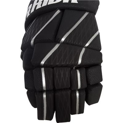 Backhand Detail (Warrior Burn Pro Fatboy Goalie Gloves)