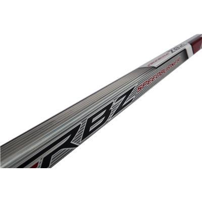 Bottom of Shaft (CCM RBZ Speedburner White SE Grip Composite Stick)