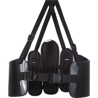 Black (Warrior Deluxe Box Rib Guard)
