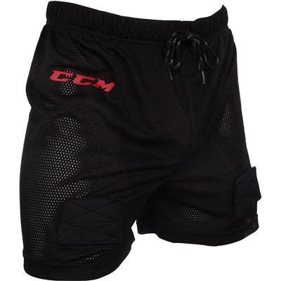 Front (CCM Mesh Jock Hockey Shorts)