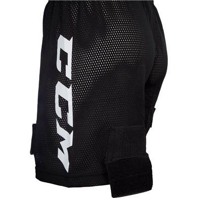 Side Logo (CCM Mesh Jock Hockey Shorts)
