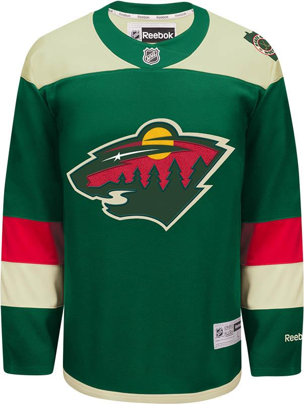 Minnesota Wild Jersey Green