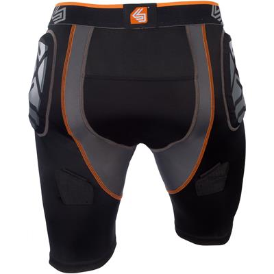 (Shock Doctor Ultra ShockSkin Compression Hockey Jock Short w/ AirCore Cup - Mens)