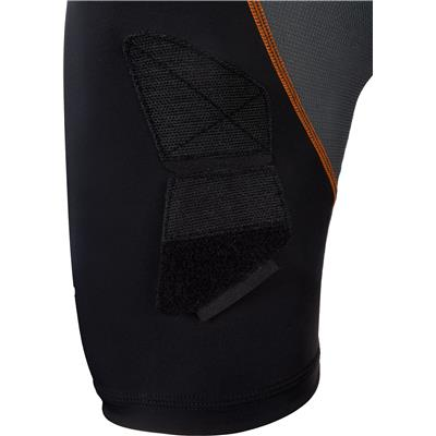 Velcro Sock Attachment (Shock Doctor Ultra Compression Hockey Jock Shorts w/AirCore Cup - Mens)