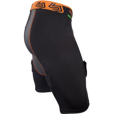 Side View (Shock Doctor Ultra Compression Hockey Jock Shorts w/AirCore Cup - Mens)