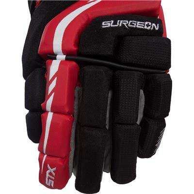 Front (STX Surgeon 300 Hockey Gloves)