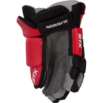 Back (STX Surgeon 300 Hockey Gloves)
