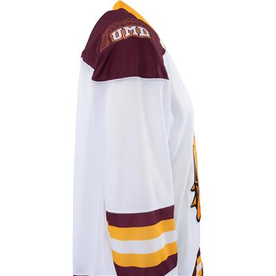 size 40 11e35 f58dd Under Armour Minnesota-Duluth Bulldogs Jersey - Away/White - Mens