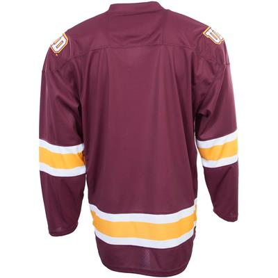 Back (Under Armour Minnesota-Duluth Bulldogs Jersey - Home/Dark)