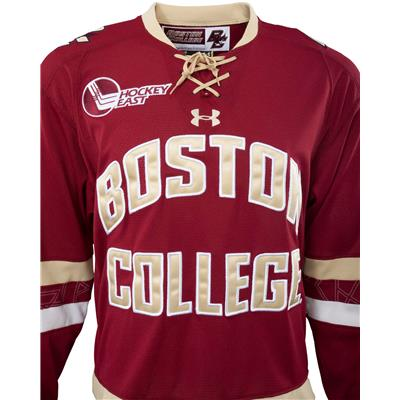 Front (Under Armour Boston College Eagles Jersey - Home/Dark)